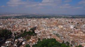 Granada, Spanje stock videobeelden