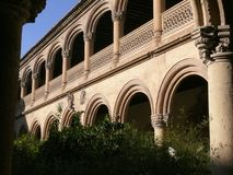 Granada, Spanje 01/01/2007 Klooster van St Jerome stock foto's