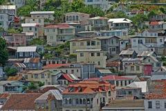 Granada-städtischer Abhang Stockfotos