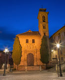 Granada - St. Ann church and square. Royalty Free Stock Images