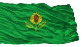 Granada-Stadt-Flagge, Kolumbien, Cundinamarca-Abteilung, lokalisiert auf weißem Hintergrund vektor abbildung