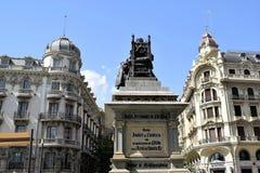 Granada stor historisk stad av Spanien-Andalusia, gammal stad Royaltyfri Bild