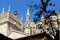 Granada-Straßen Stockfoto