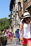 Granada-Straßen lizenzfreies stockbild