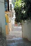 Granada-Straßen lizenzfreies stockfoto