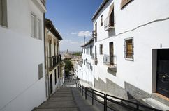 Granada street Royalty Free Stock Photo
