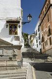 Granada street Stock Photography