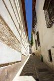 Granada streets Royalty Free Stock Photos