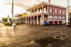Granada, Nicaragua sunset Royalty Free Stock Images