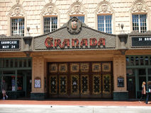 Granada theater front gate Stock Photos