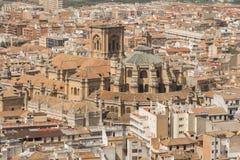 Granada top view Stock Photos