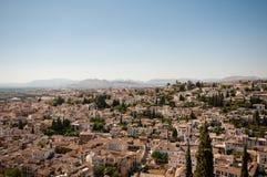 Granada van Alhambra Stock Fotografie
