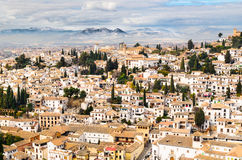 Granada view Andalucia, Espana Stock Photo