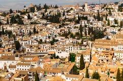 Granada view Andalucia, Espana Royalty Free Stock Photography
