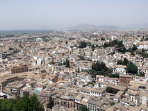 Granada view from La Alhambra Royalty Free Stock Image