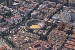 Granada von der Luft Stockfotos