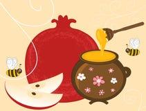 Granada y miel libre illustration