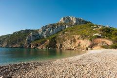 Granadella beach Royalty Free Stock Photo
