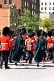 Granadero canadiense Guards en desfile en Ottawa, Canadá Fotografía de archivo