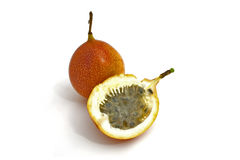 Granadilla. An exotic fruit named granadilla Stock Photography