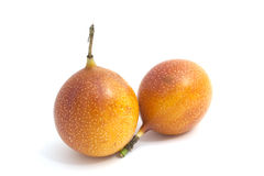 Granadilla. An exotic fruit named granadilla Stock Photo