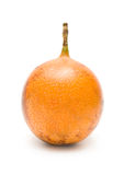 Granadilla. (passiflora) fruit on white Stock Photography