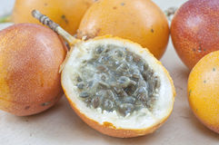 Granadilla fruit Stock Photography