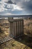 Granai abbandonati Fotografia Stock Libera da Diritti