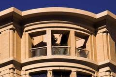 Granai arrotondati di architettura Fotografie Stock