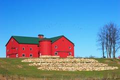 Granaio 2 dei Amish Fotografia Stock