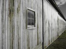 Granaio d'acciaio Fotografia Stock Libera da Diritti