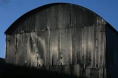 Granaio d'acciaio Fotografia Stock