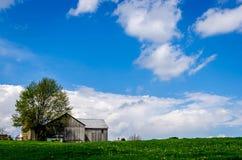 Granaio dei Amish fotografie stock libere da diritti