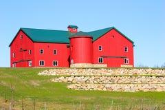 Granaio dei Amish Fotografie Stock