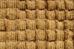 Granaio del cereale con la pila quadrata di figura sulle colonne Fotografia Stock Libera da Diritti