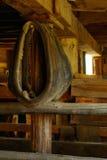 Granaio del collare di cavallo vecchio Immagine Stock Libera da Diritti