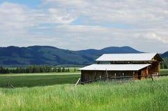 Granaio del Montana Fotografie Stock Libere da Diritti