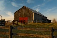 Granaio del paese Fotografia Stock