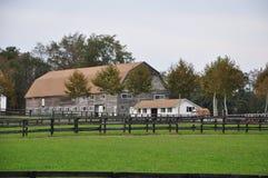 Granaio del ranch del cavallo Fotografie Stock