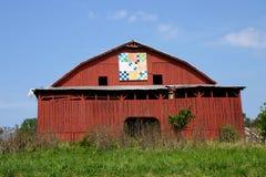 Granaio della trapunta del Tennessee Fotografia Stock