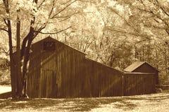 Granaio di autunno Fotografia Stock Libera da Diritti