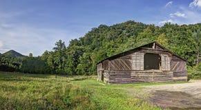 Granaio di Caldwell, valle di Cataloochee, Great Smoky Mountains Nationa Fotografie Stock