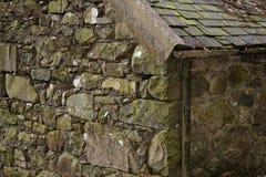 Granaio di pietra di Lingua gallese Fotografia Stock Libera da Diritti