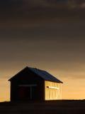 Granaio di Sidelit Fotografie Stock