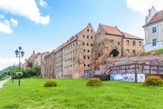 Granaio medievale, Grudziadz Fotografia Stock