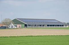 Granaio moderno del bestiame immagini stock libere da diritti