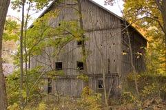 Granaio nel legno fotografie stock libere da diritti