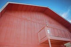 Granaio rosso Fotografia Stock