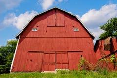 Granaio rosso fotografie stock libere da diritti