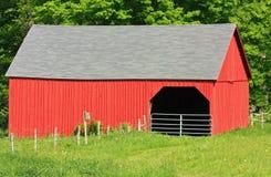 Granaio rosso Immagini Stock Libere da Diritti